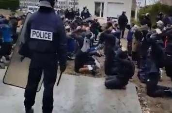पेरिस में छात्रों का प्रदर्शन हुआ उग्र, हुई 700 गिरफ्तारियां, पुलिस का खतरनाक रूप आया सामने