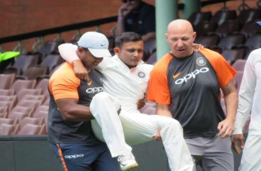 IND vs AUS: भारतीय बल्लेबाजों की नाकामी के बीच आई खुशखबरी, जल्द लौटेंगे पृथ्वी शॉ