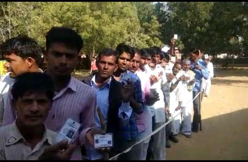 Bikaner Live Updates :मतदान के प्रति बीकानेर जिले में दिखा जबरदस्त उत्साह
