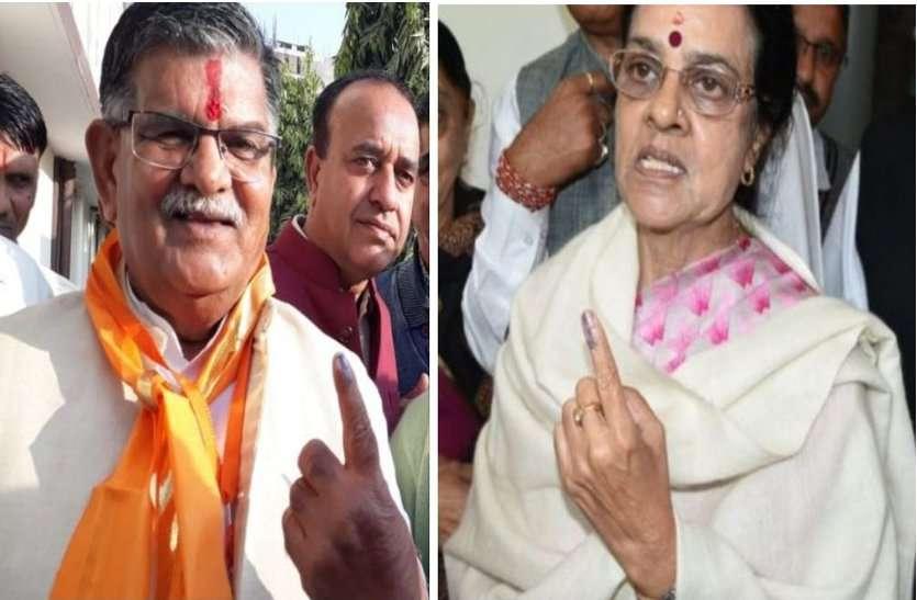 Rajasthan Chunav Live Updates: Video : कटारिया व गिरिजा व्यास ने डाला वोट, दोनों ने किया जीत का दावा, देखें वीडियो