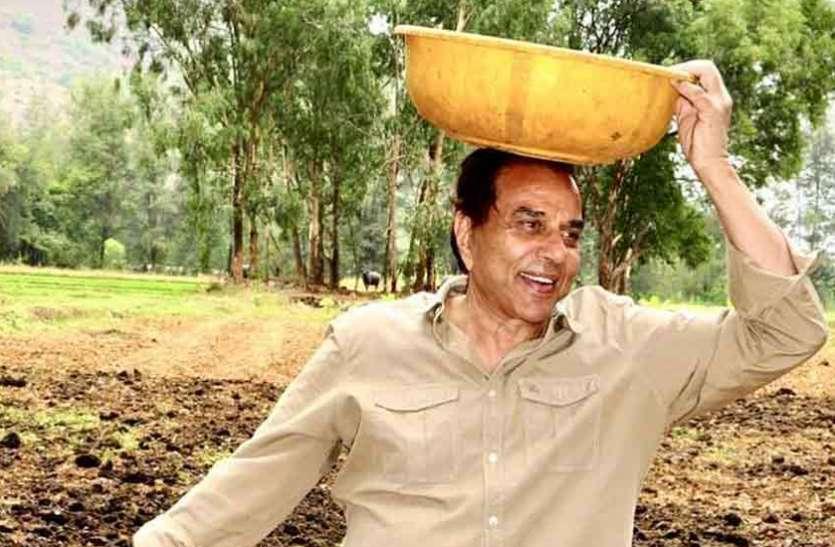 बॉलीवुड छोड़ धर्मेंद्र बने किसान, उगा रहे हैं खेतों में गोभी और प्याज