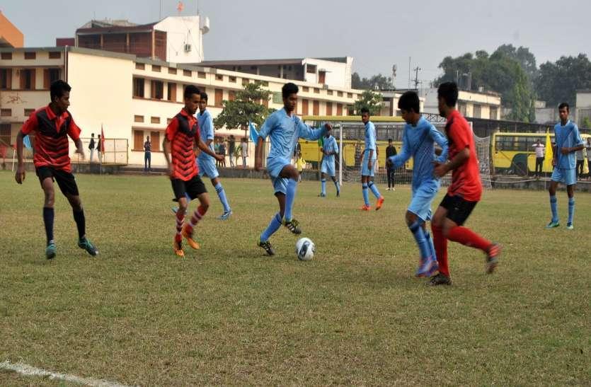 PHOTO GALLERY : मेजबान टीम एमजीएम बनी चैम्पियन 1-0 से जीता मैच