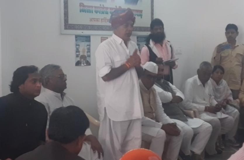 राजस्थान में एग्जिट पोल के बाद मानवेंद्र ने लोकसभा चुनाव में जुटने का किया आह्वान