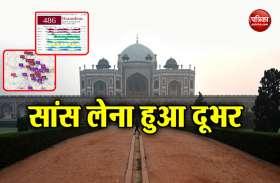 दिल्ली एनसीआर की हवा की गुणवत्ता 'खराब श्रेणी' में बरकरार, धुंध की मोटी चादर तनी