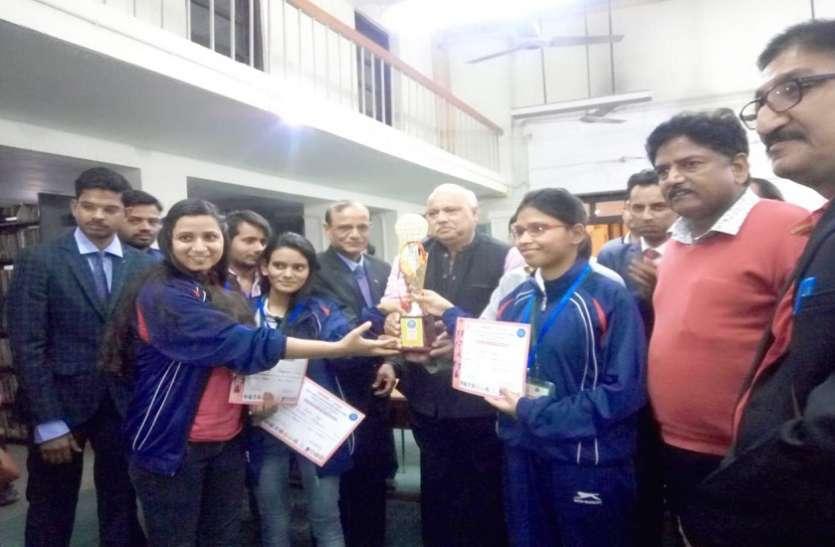 एकलव्य प्रतियोगिता में बीआर अम्बेडकर बिहार विश्वविद्यालय की बेटियों ने मुजफ्फरपुर का नाम किया रौशन