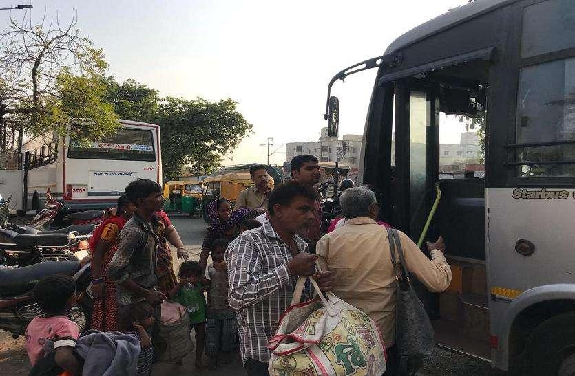 एसटी की नई बस ने यात्रियों को दिया धोखा