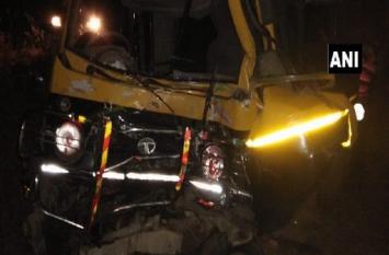 महाराष्ट्र: चंद्रपुर के कोरपना में बड़ा सड़क हादसा, 11 की मौत