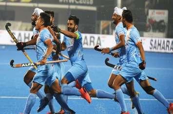 भारत ने कनाडा को 5-1 से हराकर क्वार्टर फाइनल में किया प्रवेश