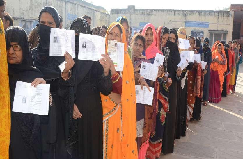लोगों में कम रहा मतदान का उत्साह