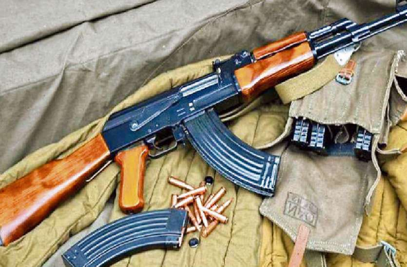 रेलवे पुलिस के हथियार लूटने वाली गैंग, अंधेरे में आई रायफल लौटाने