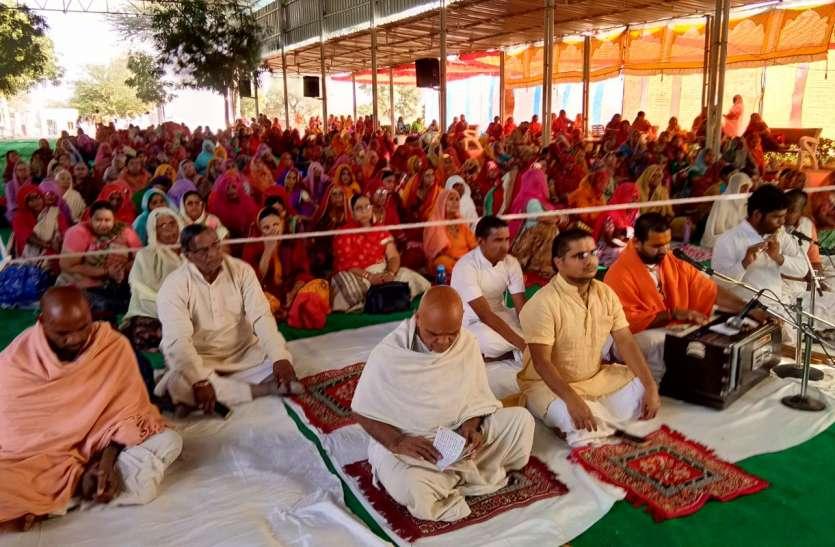 गीता जयंती महोत्सव में संतों के प्रवचन
