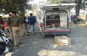 BIG BREAKING: कुशीनगर में कैश वैन से एक करोड़ 50 लाख की लूट