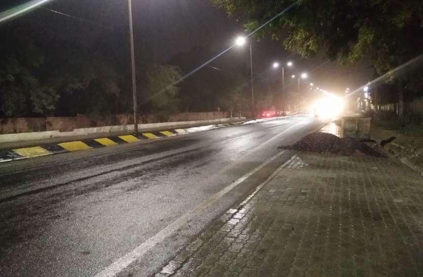 चुनावी गर्मी के परिणाम से पहले रात को मावठ की ठण्डी बौछारें
