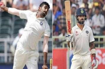 ICC Rankings : कोहली ने बरकरार रखी बादशाहत तो गेंदबाजों में बुमराह ने लगाई छलांग