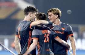 कनाडा को करारी शिकस्त देकर नीदरलैंड क्वार्टर फाइनल में, सेमीफाइनल के लिए मुकाबला भारत से