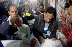 राजस्थान चुनाव 2018 की ईवीएम से ऐसे हो रही है मतों की गणना, देखें LIVE तस्वीरें
