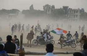 सचिन की जीत के बाद भाजपा राज का चला आखिरी डंडा, दो बार फटकारी लाठी ...देखें तस्वीरें