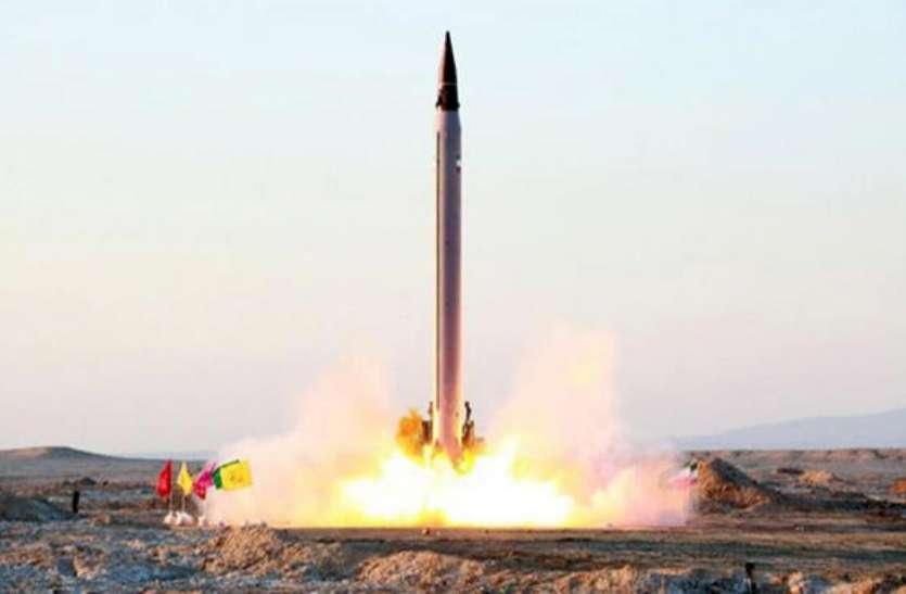 अमरीका के प्रतिबंधों के बावजूद ईरान ने मिसाइल परीक्षण की पुष्टि की