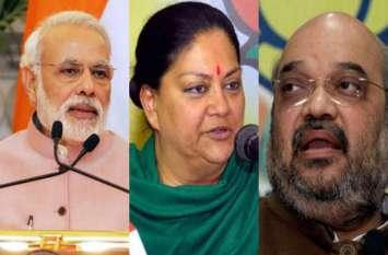 स्टार प्रचारक भी नहीं बदल पाए प्रत्याशियों के सितारे, मोदी, शाह, राजनाथ, राजे ने 10 क्षेत्र में दौरे किए, 7 सीटों पर हार