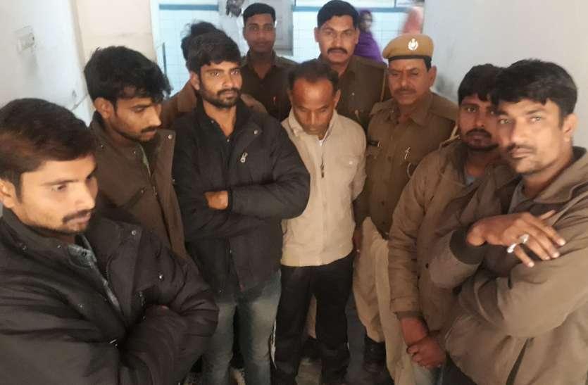तेल चोरी के प्रयास में सात आरोपित गिरफ्तार