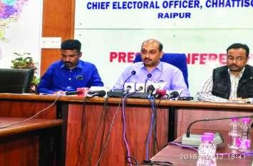 69 मतदान केंद्रों में अफसरों की गलती के कारण वीवीपैट से हुई गिनती