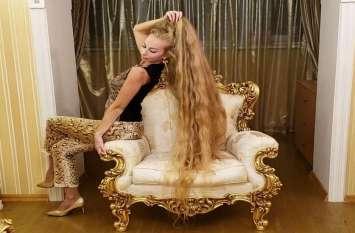 इस महिला ने 28 साल से नहीं काटे अपने बाल, ऐसे रखती हैं ख्याल