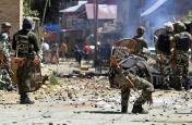 जम्मू-कश्मीर: मुठभेड़ के बाद पत्थरबाजों ने सुरक्षाबलों पर किया पथराव, झड़प में 7 की मौत