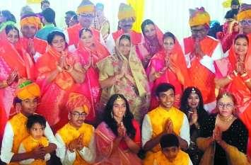 प्रतिष्ठा महोत्सव : सत्तरभेदी पूजा के साथ द्वार उद्घाटन