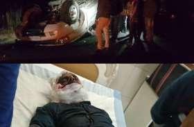 मारुति वैन व स्कॉर्पियो की आमने सामने टक्कर में चालक सहित चार की मौत, दो अन्य घायल