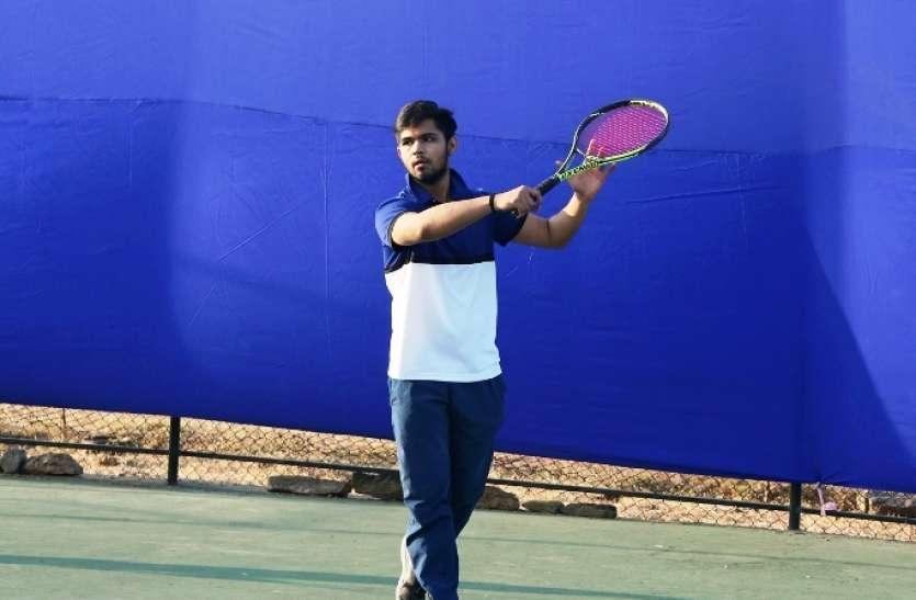 गुजरात विवि को हराकर पुणे विवि फाइनल में...पश्चिम क्षेत्र अन्तरविश्वविद्यालय टेनिस