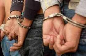 पुलिस मुठभेड़ के दौरान फरार दो अपराधी असलहा सहित गिरफ्तार