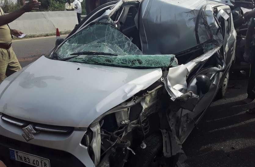 कार-ट्रैक्टर भिड़ंत में एक की मौत
