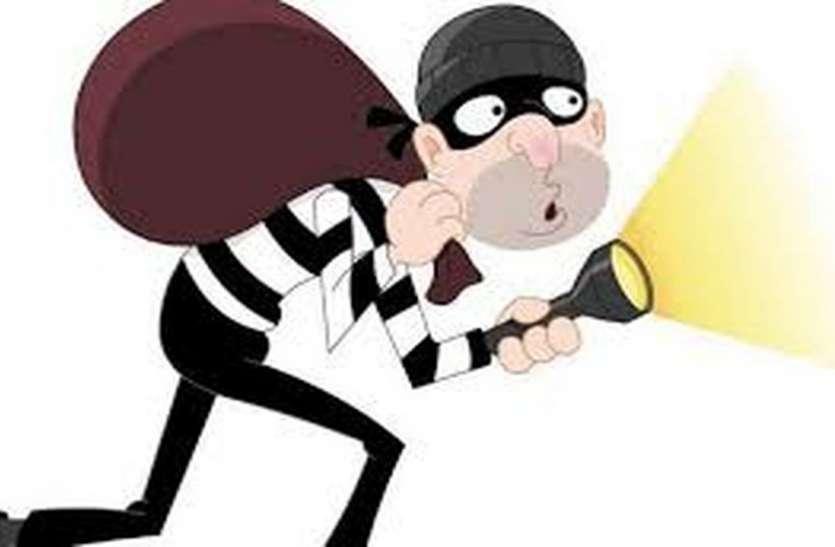 चोरों ने हथियार दिखाया, रॉड से मारा फिर भी नहीं छोड़ा