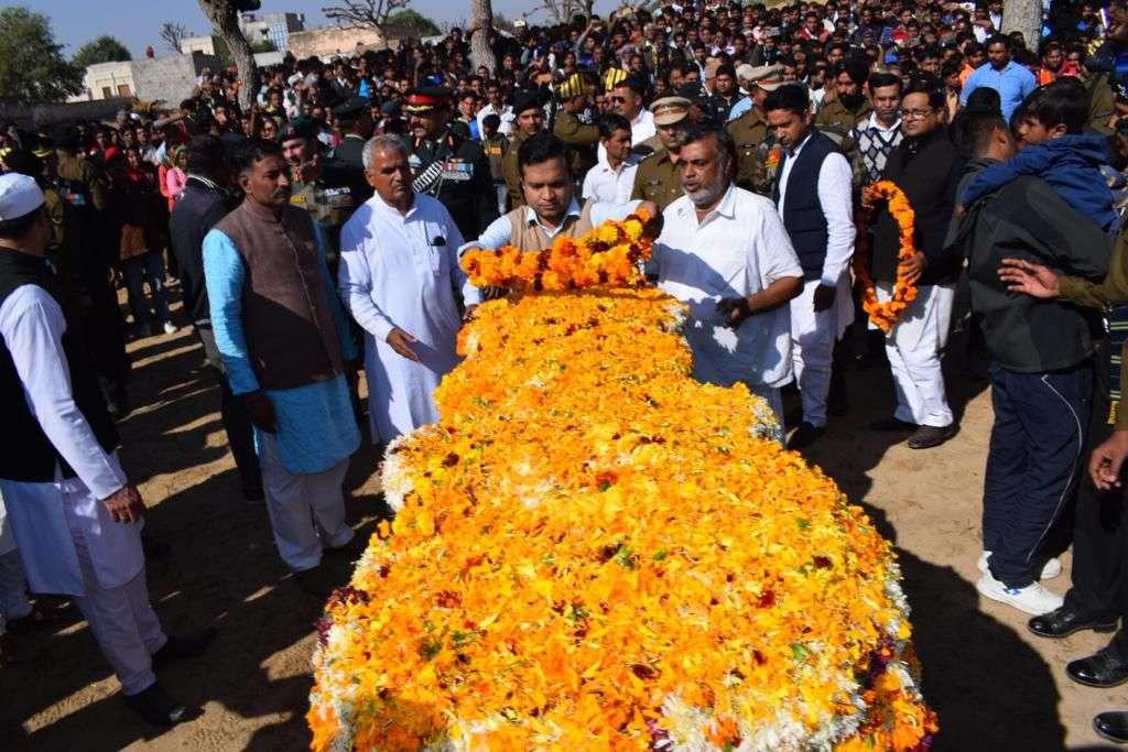 churu Shaheed Kishan Singh Rajput