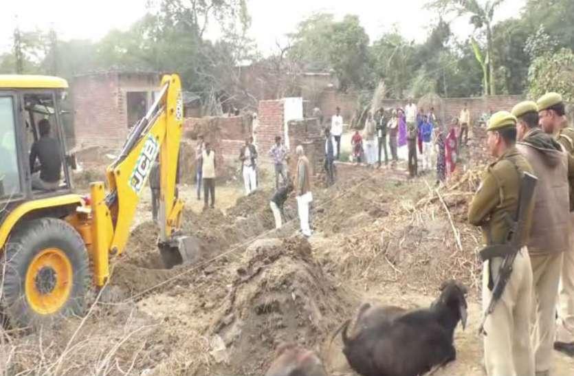 भाजपा नेता के नाम भूमिहीन का पट्टा, करोड़ों की जमीन पर प्रशासन ने कराया कब्जा, देखें वीडियो