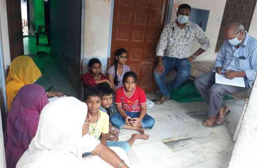 मेडिकल टीम ने अलवर में सर्वे किया तो मिले बुखार के इतने मरीज, इतने स्थानों पर मिला लार्वा