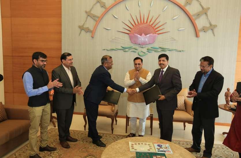 गुजरात में तीन प्रोजेक्ट के लिए ३७१० करोड़ के एमओयू