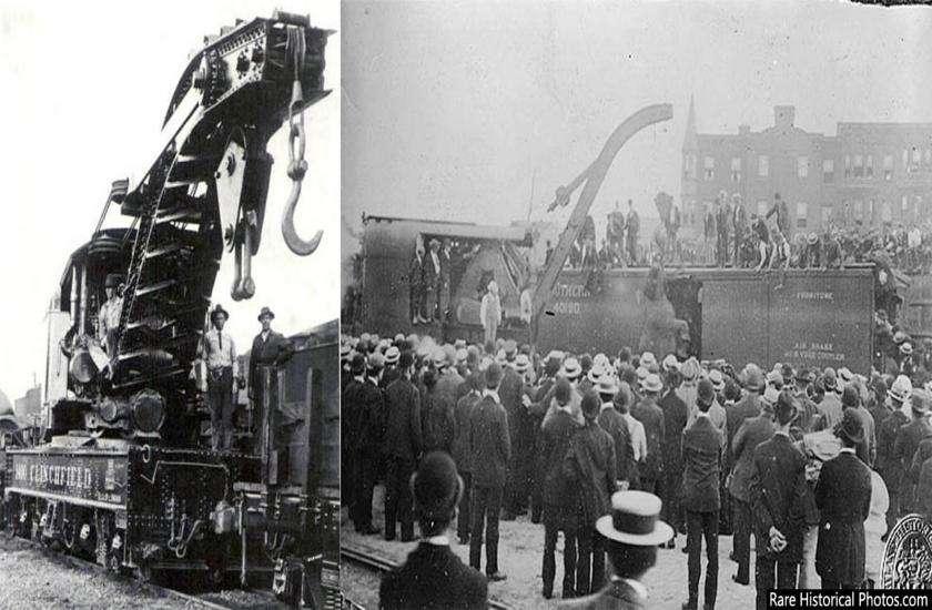 circus elephant hanged