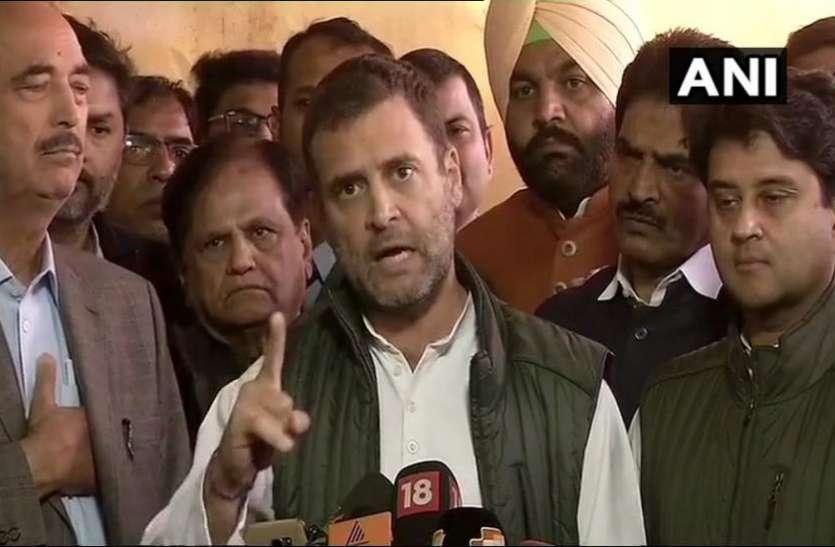 राहुल गांधी का मोदी सरकार पर हमला: सभी किसानों का कर्ज माफ नहीं होने तक PM को सोने नहीं देंगे