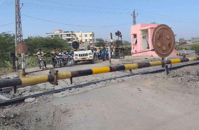 रेलवे क्रॉसिंग रोक रहा रीको की रफ्तार