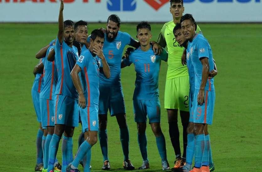 Asian cup : अबु धाबी पहुंची टीम इंडिया, टीम को मिला भव्य स्वागत