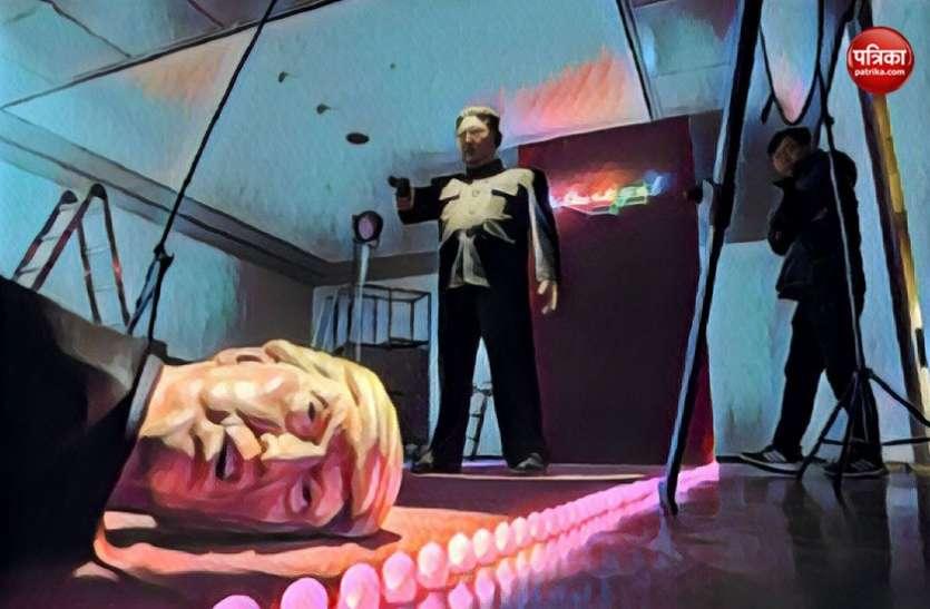 फोटो प्रदर्शनी में किम जोंग ने अमरीकी राष्ट्रपति को 'गोलियों से उड़ाया'!