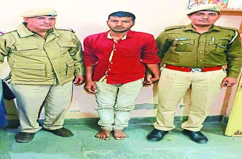 हत्थे चढ़ा एटीएम में तोडफ़ोड़ का आरोपी, उदयपुर जेल से गिरफ्तार