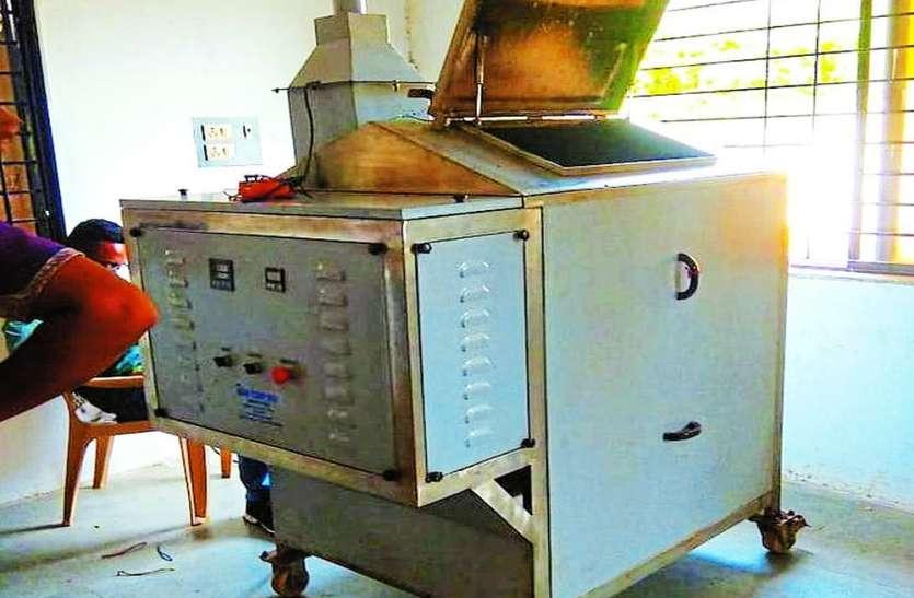इंजीनियरिंग कॉलेज के प्राध्यापक ने बनाया कम्पोस्टर मशीन