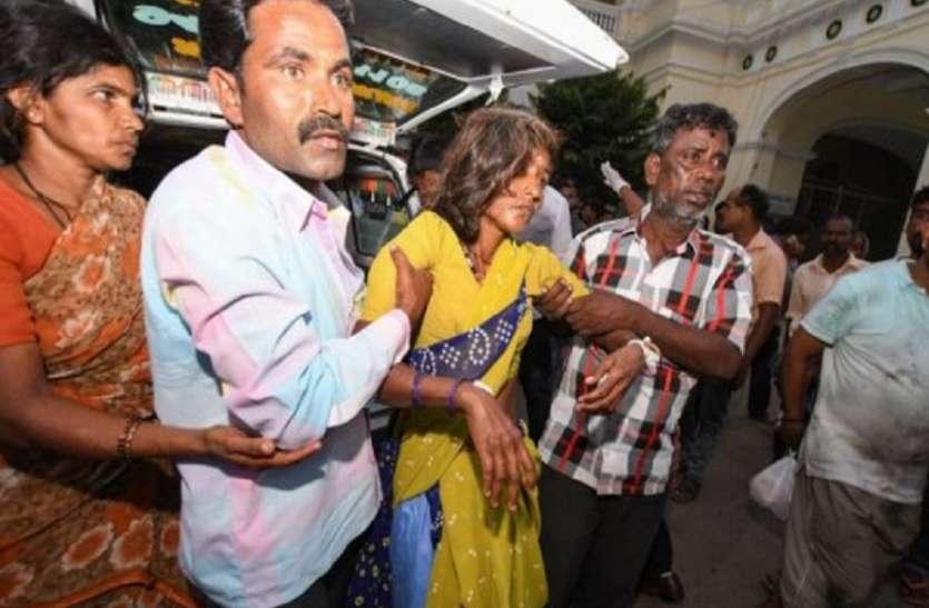 प्रसाद में जहर से मरने वालों की संख्या १५ हुई