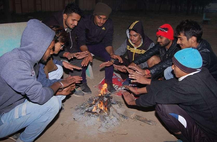 जयपुर में सर्दी ने 3 साल का रिकॉर्ड तोड़ा