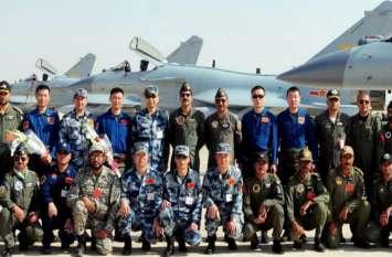 पाकिस्तान और चीन ने संयुक्त वायु सैन्य अभ्यास में ताकत दिखाई