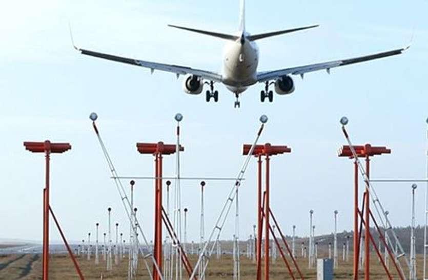 नया तरीका: बीच सड़क खड़ी की दीवार ताकि बड़े विमानों को लैंडिंग में न हो कोई दिक्कत