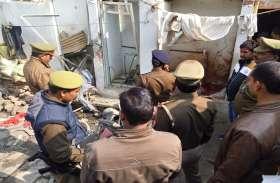जैतपुरा इलाके में तेज धमाके संग विस्फोट, मचा हड़कंप