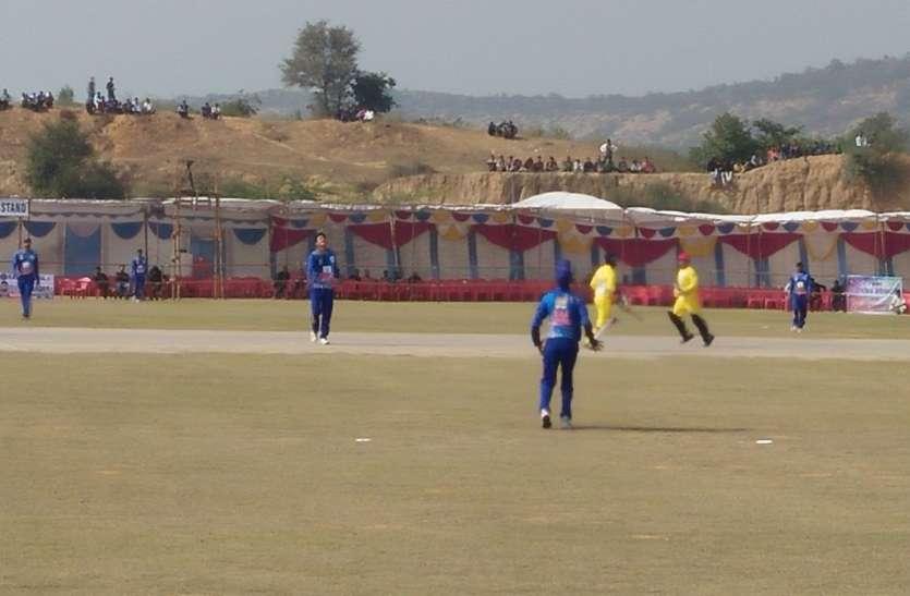 राज रॉयल्स के बल्लेबाजों ने बरसाए चौके-छक्के,केपीएल-2 का हुआ आगाज